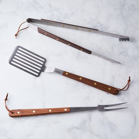 Food52 x Lamson Brass Grill Tool Set