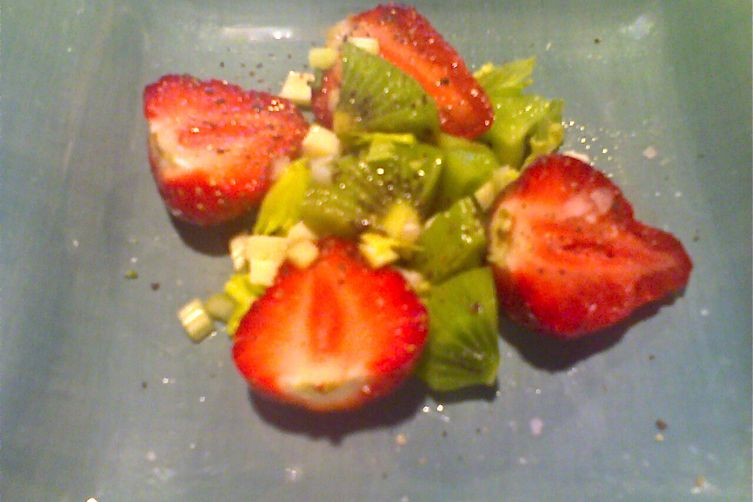 Strawberry Kiwi Salad
