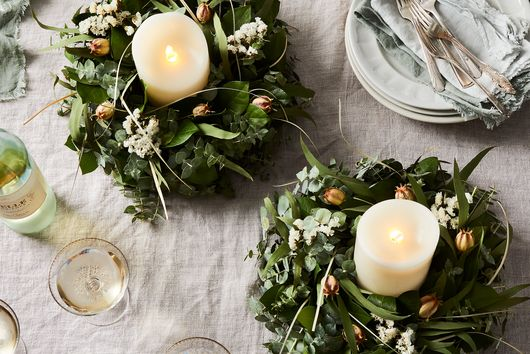 These Rustic Wreaths Bring the Lush Beauty of Monterey to Your Home