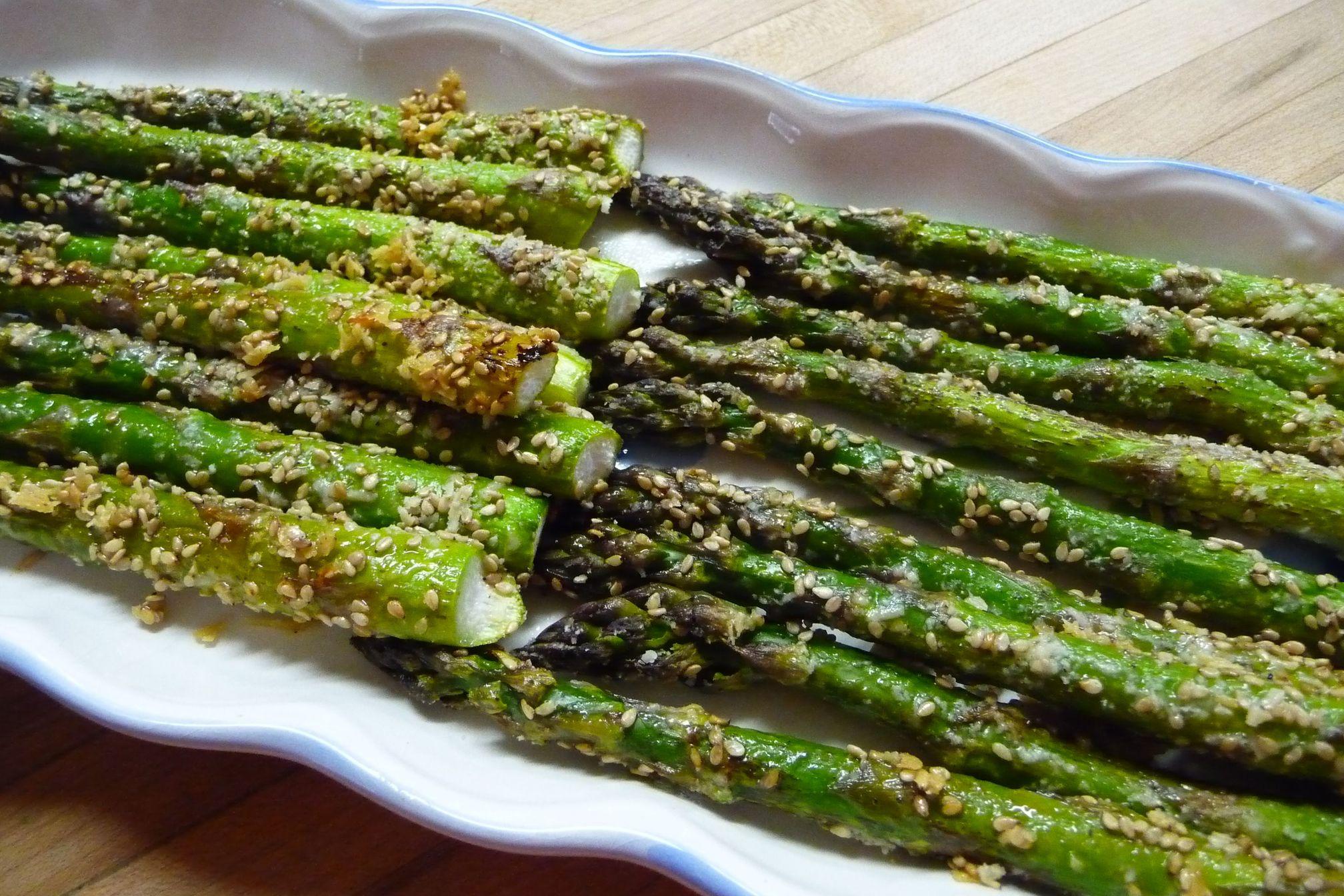 Crunchy Roasted Asparagus Recipe On Food52