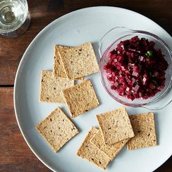 Beet Tartare with Dijon and Capers