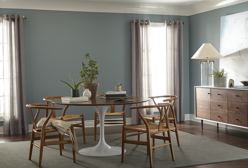 Behr 39 s color of the year is soothing and tranquil - Behr color of the year ...