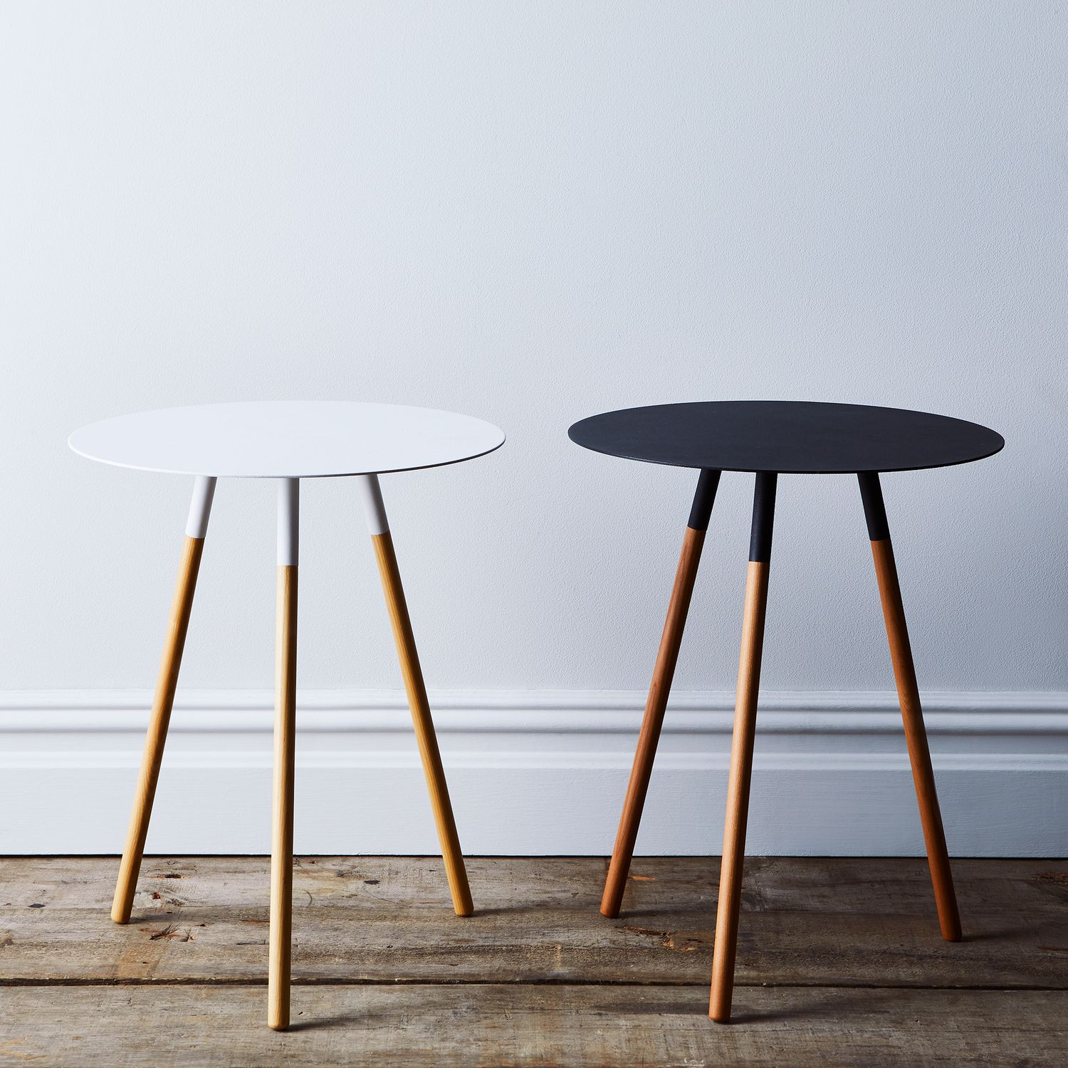 Steel wood round side table on food52 for Round table 52 nordenham