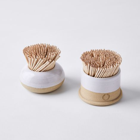 Handmade Ceramic Toothpick Holder