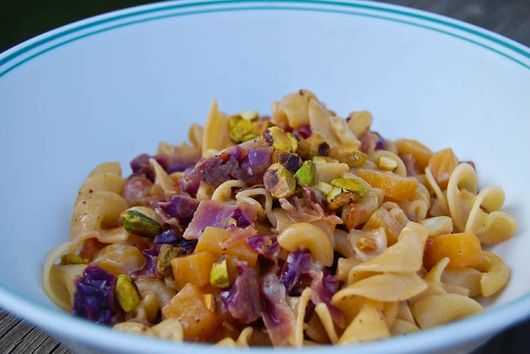 Beets & Red Cabbage Pasta