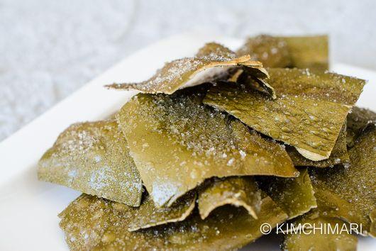 Fried Kelp Chips - Dasima Twigak