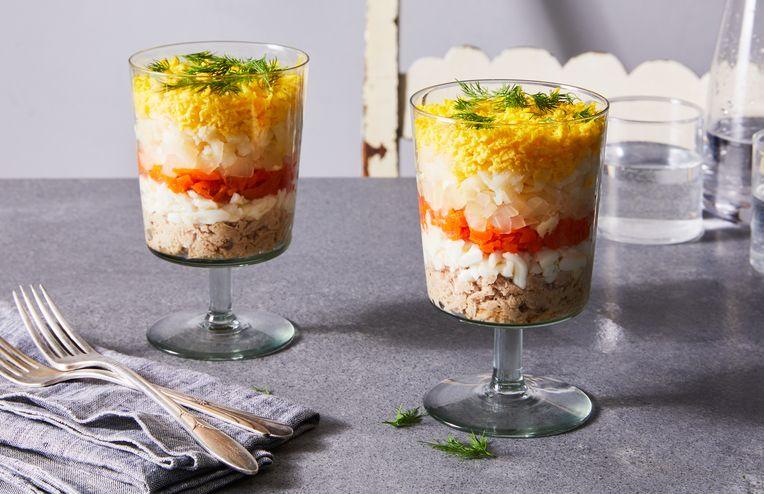 The Unbridled Joy of Layered Mayonnaise Salads