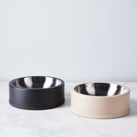 Modern Stainless Steel Dog Bowl