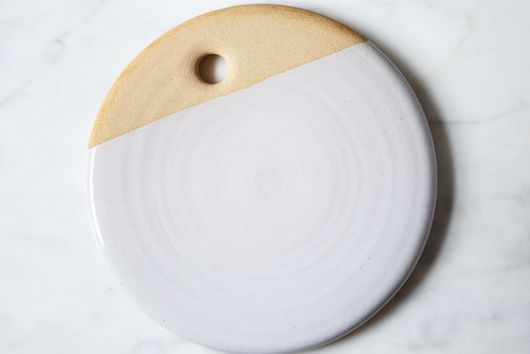 Dipped Clay Plate