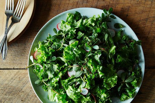 Chickpea Bolognese + Leafy Fall Salad