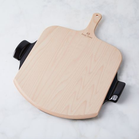 Emile Henry Ceramic Pizza Stone & Peel Kit