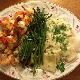 Florida Shrimp Goes Italian