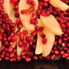 Wine-Poached Pears with Pomegranate