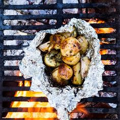Grilling with Adam Rapoport: Campfire Potatoes