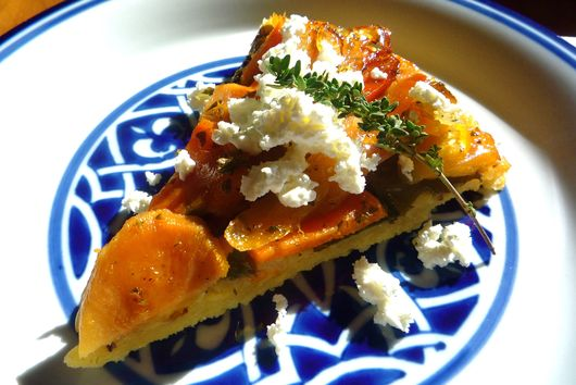 Savory Tarte Tatin with Winter Vegetables