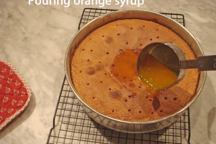 Orange Cake - My mother's recipe