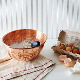 Mauviel M'passion Copper Egg White Beating Bowl