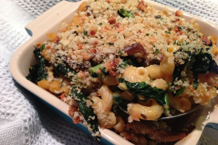 Squash Macaroni and Cheese