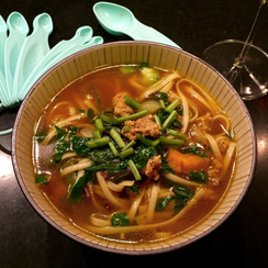 Curry Pho with Veal and Veggies