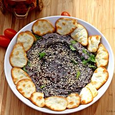 Smoky Black Bean Hummus