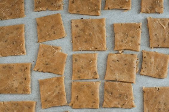 Homemade Fennel Seed Crackers