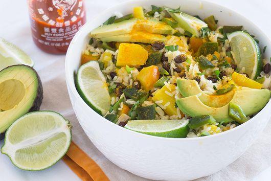 Tropical Black Beans & Rice Bowl