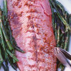 Maple Ginger Glazed Salmon