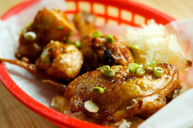 asian garlic honey chicken