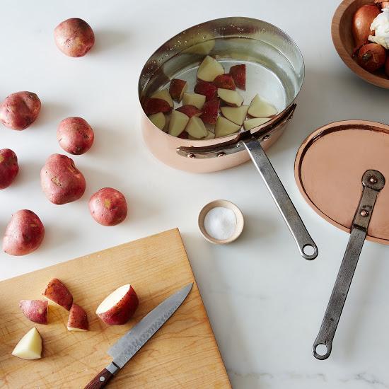 Vintage Copper Saucepan