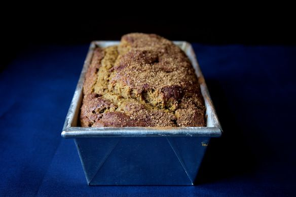 Pumpkin bread from Food52