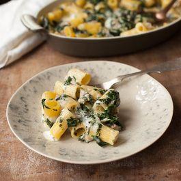 Chicken, Spinach and Pasta Al Forno