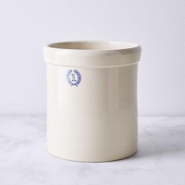 Handmade Ceramic Vintage Style Crock By Farmhouse Pottery 4 Sizes On Food52