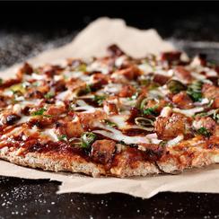 BBQ Tempeh Pizza