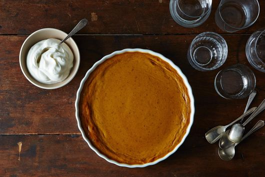 The Best Pumpkin Pie Doesn't Need a Crust
