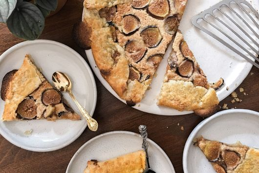 fig & almond galette