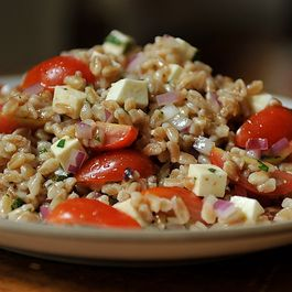 Summer Farro Salad by NanciKnits