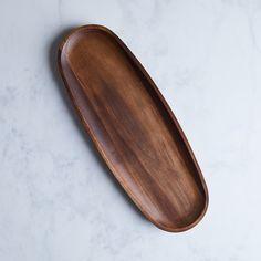 Dansk Acacia Oval Serving Platter