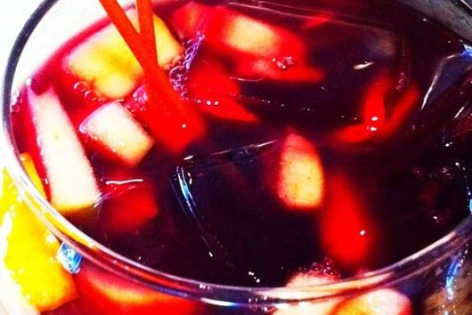 On Sale? No, On Special Sangria!