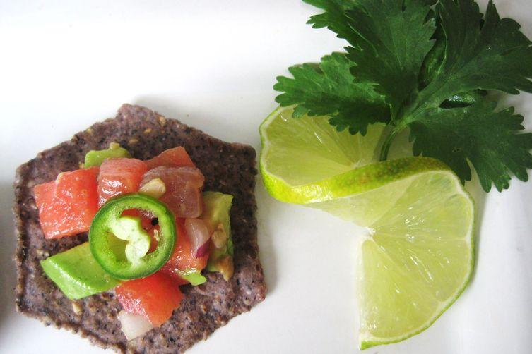 Ahi Tuna and Watermelon Ceviche