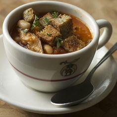 White Bean and Shiitake Soup