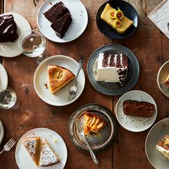 The Many, Many Cakes & Cookbooks From Our Fall Cookbook Cake Parade