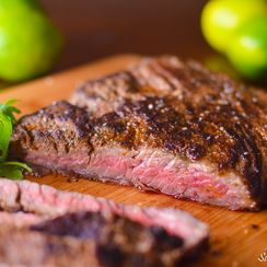 Citrus Marinated Skirt Steak