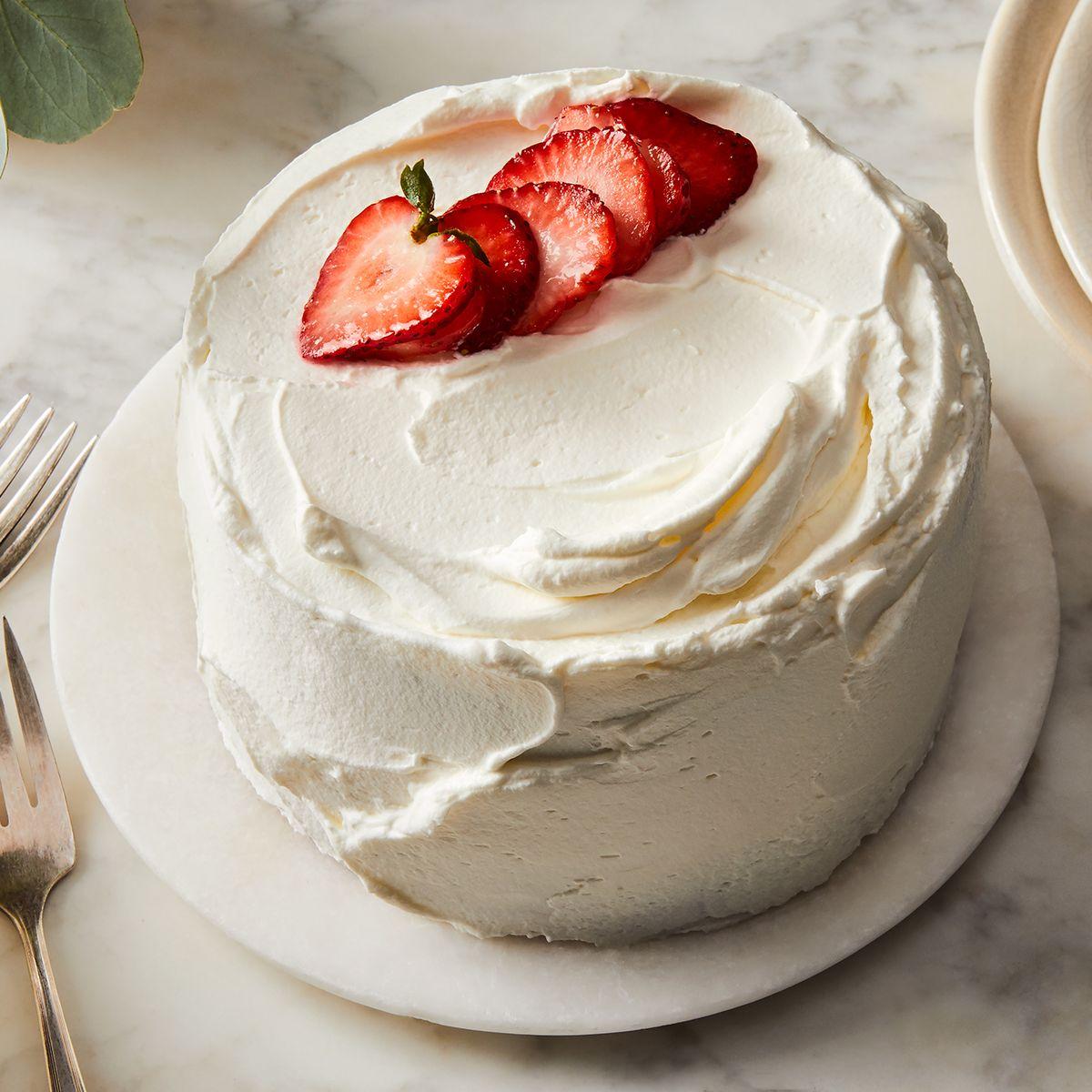 Enjoyable Korean Fresh Cream Cake Recipe On Food52 Personalised Birthday Cards Arneslily Jamesorg
