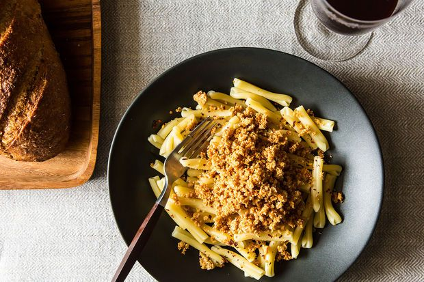 Cavatelli with Asiago Oat Crumbles on Food52