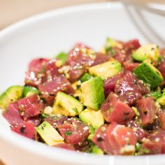 Maui Avocado & Tuna Poke