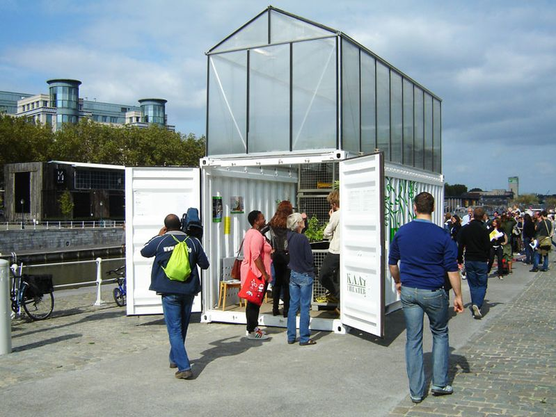 Brussels' UFU sightings: Urban Farm Units