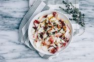 Endive with Bacon and Buttermilk Ranch Dressing
