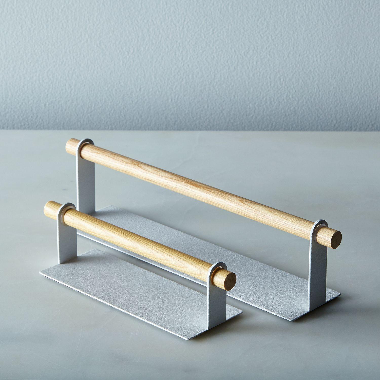magnetic kitchen towel holder on food52