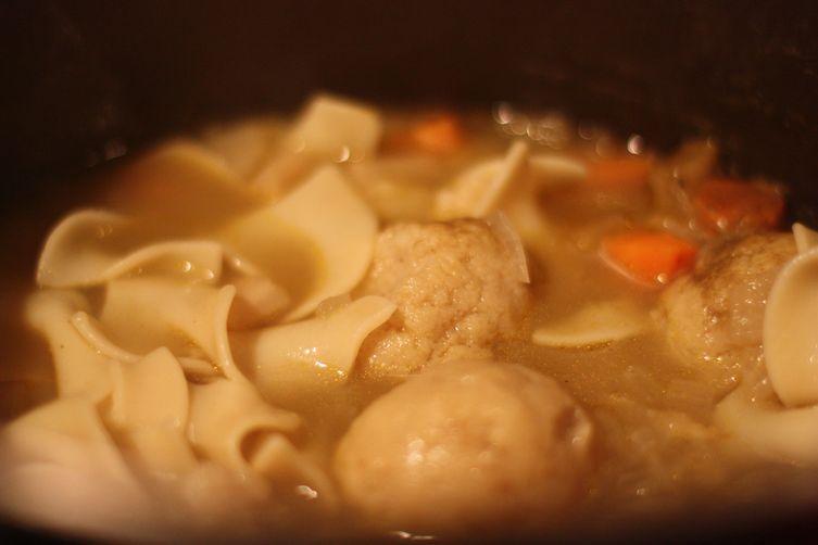 G.G. Rose's Matzo Ball Soup