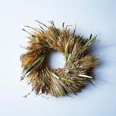 Natural Grasses Wreath
